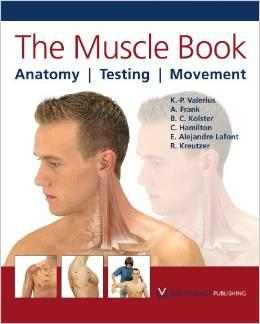 The Muscle Book: Anatomy, Testing, Movement: Klaus-Peter Valerius ,