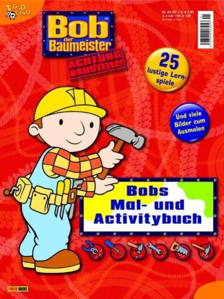 Bob der Baumeister - Mal- und Activitybuch. Bd. 5