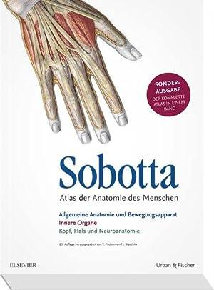 9783437440830: Sobotta Atlas der Anatomie Sonderausgabe in einem ...