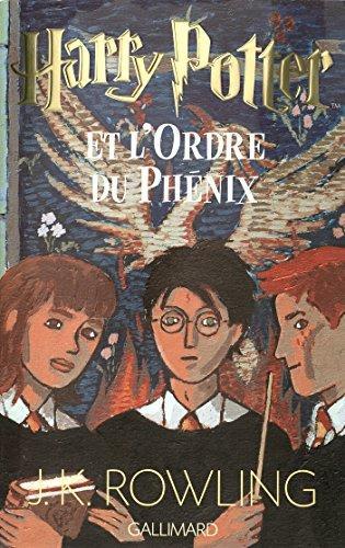 Harry Potter Tome 5 - Harry Potter Et L'ordre Du Phénix - GALLIMARD - 01/01/2003