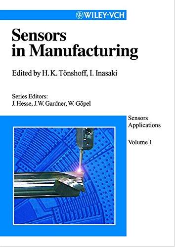 Sensors Applications. 5 Volumes: Sensors in Manufacturing: Tönshoff, Hans Kurt