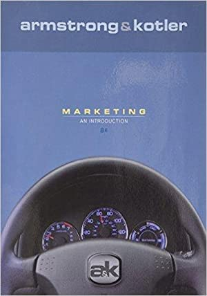 Gary armstrong philip kotler abebooks marketing an introduction armstrong gary and fandeluxe Images