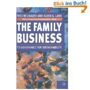 The Family Business: In Governance for Sustainability: Fred Neubauer (Autor),