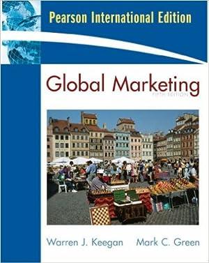 Global marketing: Keegan, Warren J.