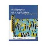 Mathematics with Applications: Graphing Technology Version: Thomas W. Hungerford