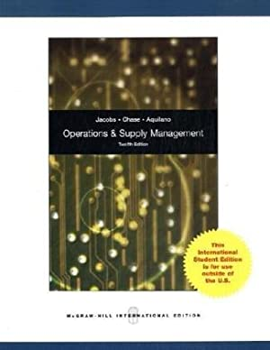Operations Management /Mit DVD: For Competitive Advantage: Chase, Richard B.,
