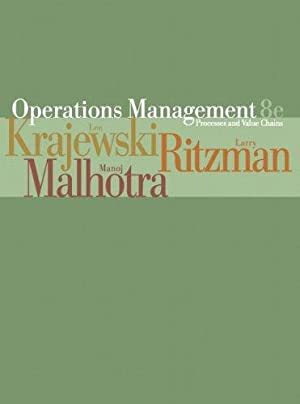 Operations Management: Processes and Value Chains: Process: Krajewski, Lee J.: