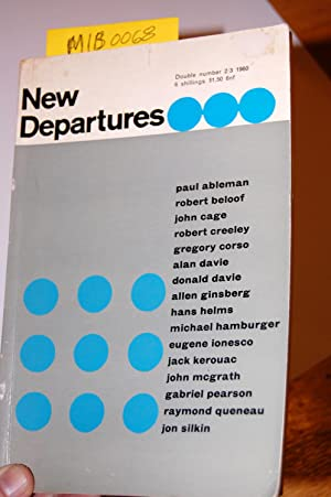 New Departures, No. 2/3 1960