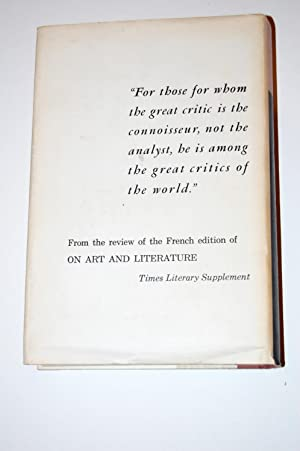 Marcel Proust on Art and Literature 1896-1919