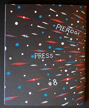 Fred Tomaselli (Silkscreen Cover of Pierogi #8) signed: Fred Tomaselli