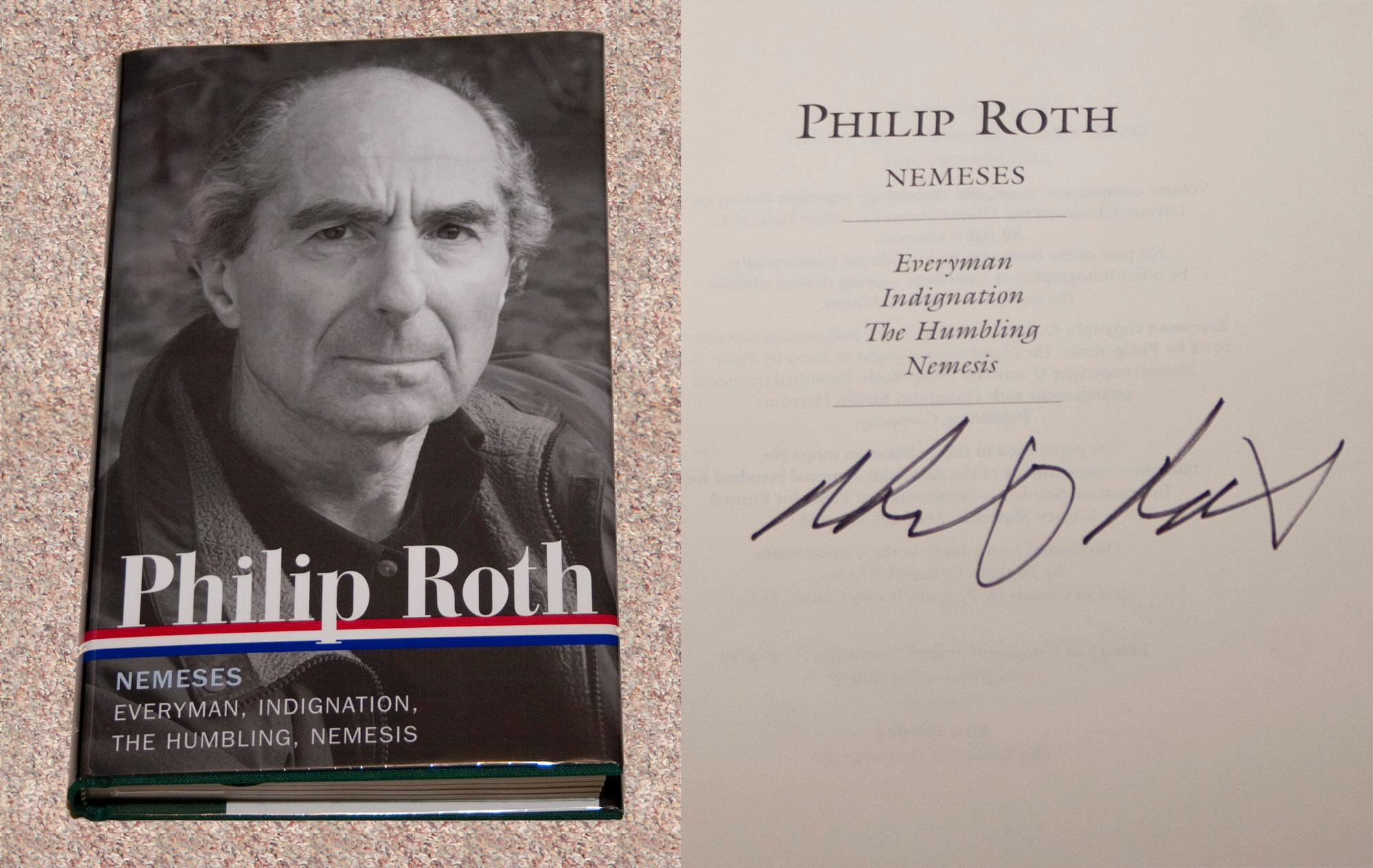 an analysis of the use of emotions as a weapon in philip roths novel nemesis A tale of two roths: philip this essay explores philip roth's nemesis and ben particular attention to philip roth's our gang (1971) this novel is.