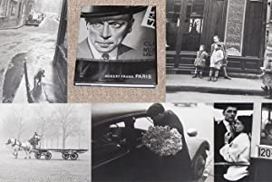 PARIS: PHOTOGRAPHS BY ROBERT FRANK - Scarce Pristine Copy of The First Hardcover Edition/First...