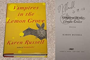 VAMPIRES IN THE LEMON GROVE: STORIES - Scarce Pristine Copy of The First Hardcover Edition/...