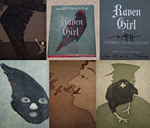 THE RAVEN GIRL - Rare Pristine Copy of The First Hardcover Edition/First Printing: Signed, ...