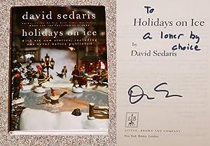 HOLIDAYS ON ICE: WITH SIX NEW STORIES,: Sedaris, David