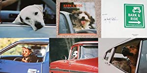 BARK & RIDE: A TAIL-WAGGING ADVENTURE: PHOTOGRAPHS BY MARK J. ASHER - Scarce Pristine Copy of ...