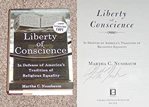 LIBERTY OF CONSCIENCE: IN DEFENSE OF AMERICA'S TRADITION OF RELIGIOUS EQUALITY - Rare Pristine...