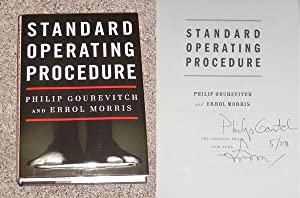 STANDARD OPERATING PROCEDURE - Rare Pristine Copy of The First Hardcover Edition/First ...