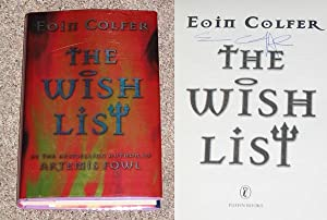 THE WISH LIST - Scarce Pristine Copy of The First Hardcover Edition/First Printing: Signed by ...