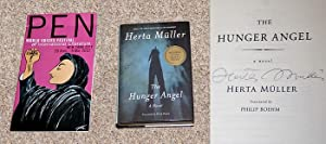 THE HUNGER ANGEL - Rare Fine Copy of The First American Edition/First Printing: Signed by ...