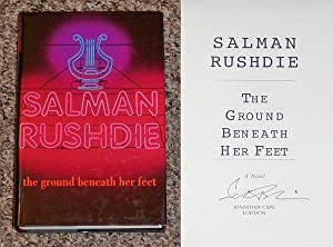 THE GROUND BENEATH HER FEET - Scarce Fine Copy of The First Hardcover Edition/First Printing: ...