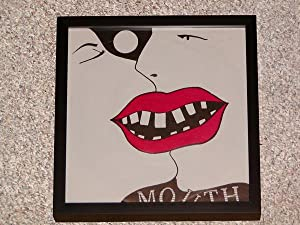 MOUTH BAND FRAMED RECORD COVER ALBUM - Rare Pristine Copy of Collectible Item - ONLY COPY ONLINE: ...
