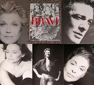 BRAVI! LYRIC OPERA OF CHICAGO: PHOTOGRAPHS BY SKREBNESKI - Rare Fine Copy of The First Hardcover ...
