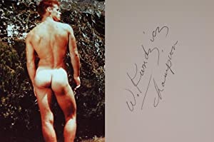 """JIM STRYKER: """"FULL-BUTT"""" NUDE COLOR PHOTOGRAPH BY: Kundzicz, Walter (Champion"""