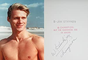 "JIM STRYKER: ""FULL-CHEST"" COLOR PHOTOGRAPH BY WALTER KUNDZICZ - Rare Fine Contemporary ..."