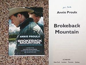 "BROKEBACK MOUNTAIN: THE FILM TIE-IN EDITION - Rare Fine Copy of The First ""Film Tie-In"" ..."