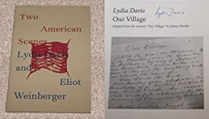 TWO AMERICAN SCENES: NEW DIRECTIONS POETRY PAMPHLET: Davis, Lydia (Author)