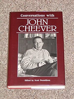 CONVERSATIONS WITH JOHN CHEEVER: LITERARY CONVERSATIONS SERIES - Rare Fine Copy of The First ...