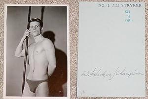 "JIM STRYKER: ""WOODEN STICK"" BLACK-AND-WHITE PHOTOGRAPH BY: Kundzicz, Walter (Champion"