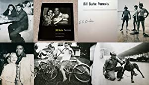 BILL BURKE: PORTRAITS - Scarce Fine Copy of The First Hardcover Edition/First Printing: Signed...