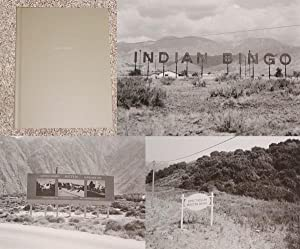 ONE PICTURE BOOK: INDIAN BINGO - Rare Pristine Copy of The Limited Edition: Signed by Joe Deal: ...