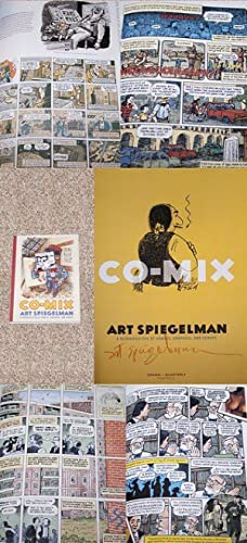 ART SPIEGELMAN: CO-MIX: A RETROSPECTIVE OF COMICS, GRAPHICS, AND SCRAPS - Rare Pristine Copy of The...