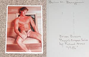 "BRIAN BUZZINI: COLOR ""FULL-FRONTAL"" NUDE PHOTOGRAPH - Rare Pristine Original Vintage ..."
