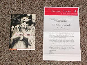 NO SAINTS OR ANGELS - Rare Pristine Review Copy of The First Hardcover Edition/First Printing ...