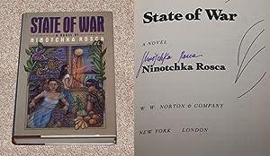 STATE OF WAR - Rare Fine Copy: Rosca, Ninotchka