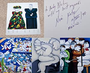 NOE KATZ: PAINTINGS - Rare Fine Copy of The Retrospective Monograph: Signed, Placed, Dated, And ...