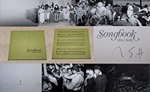 SONGBOOK - Rare Pristine Copy of The First Hardcover Edition/First Printing: Signed by Alec ...
