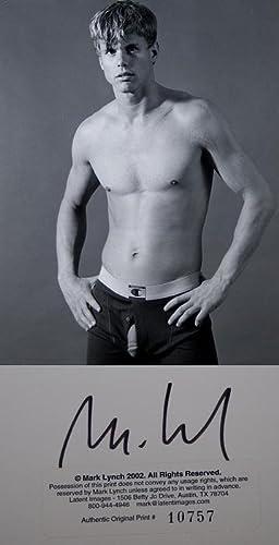 MARK LYNCH: UNTITLED MALE NUDE ORIGINAL ARCHIVAL PRINT - Rare Fine Original Photographic Print: ...
