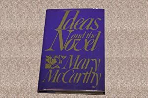 IDEAS AND THE NOVEL - Scarce Fine Copy of The First Hardcover Edition/First Printing: McCarthy...