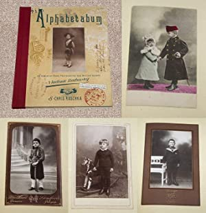 ALPHABETABUM: AN ALBUM OF RARE PHOTOGRAPHS AND MEDIUM VERSES - Scarce Pristine Copy of The First ...