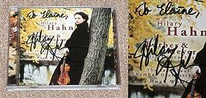 HILARY HAHN: BARBER & MEYER VIOLIN CONCERTOS: Hahn, Hilary (Violinist);
