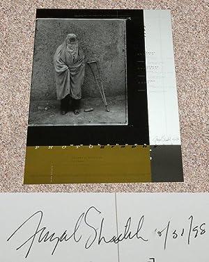 FAZAL SHEIKH: SOUVENIR ANNOUNCEMENT POSTER - Rare Pristine Copy of The Souvenir Announcement Poster...