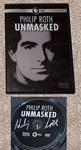 PHILIP ROTH UNMASKED: THE FILM DOCUMENTARY - Rare Pristine Copy of The DVD: Signed by Philip Roth -...