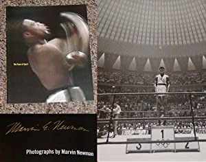 MARVIN E. NEWMAN: THE FACE OF SPORT - Rare Pristine Copy of The Exhibition Catalog: Signed by ...