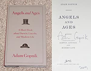 ANGELS AND AGES: A SHORT BOOK ABOUT DARWIN, LINCOLN, AND MODERN LIFE - Rare Pristine Copy of The ...