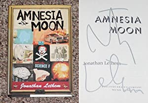 AMNESIA MOON - Scarce Pristine Copy of The First Hardcover Edition/First Printing: Signed by ...